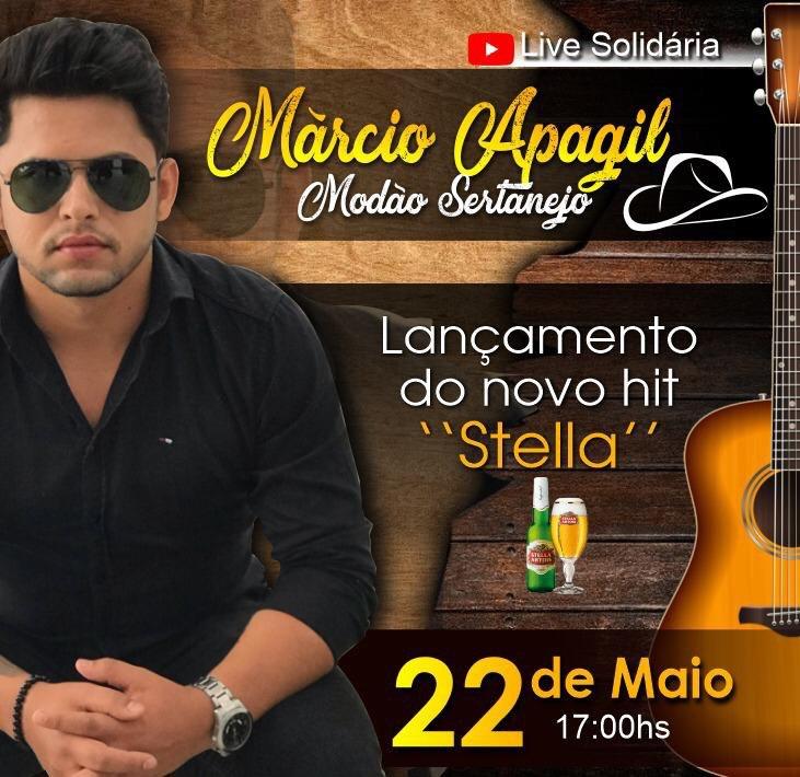 Lançamento Márcio Apagil